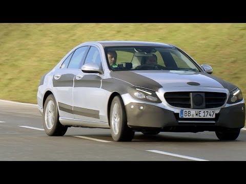 NEW 2015 Mercedes C-Class tested by Michael Schumacher