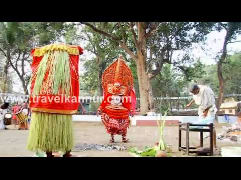 Kurathi Theyyam @ Nikkunnath Kalariyal  (Travel Kannur Kerala Videos)