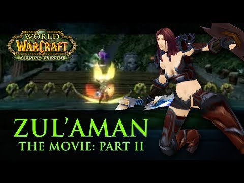 World of Warcraft: Zul'Aman: The Movie. Paladin Tank. 2 of 2
