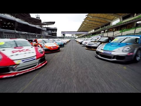Highlights of the Porsche Carrera Cup Asia 2015 - Official Test Days