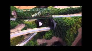 N Scale Mountain Layout