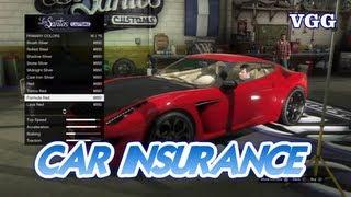 Car Insurance Explained/Cars Not Saving/Disappearing GTA V