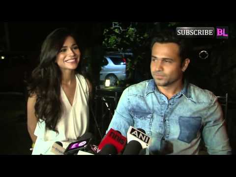 Emraan Hashmi and Humaima Malik attend Raja Natwarlal's wrap up party