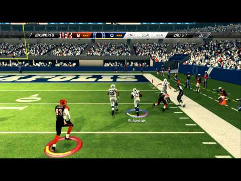 Madden 25: Bengals vs Colts | Trent Richardson BEAST!