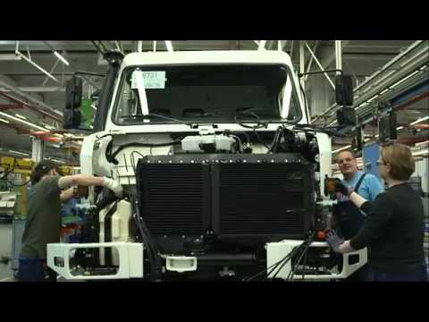 Mercedes Benz Special Trucks UNIMOG Plant in Woerth