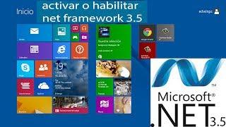 Instalar O Activar Net Framework 3.5 En Windows 8.1 Pro