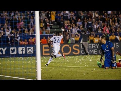 VIDEO: Ghanaian striker Ema Boateng scores debut MLS goal for La Galaxy