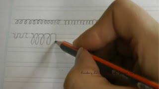 Caligrafía: Ejercicios para agilizar la mano