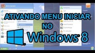 Recuperando O Menu Iniciar Clássico No Windows 8