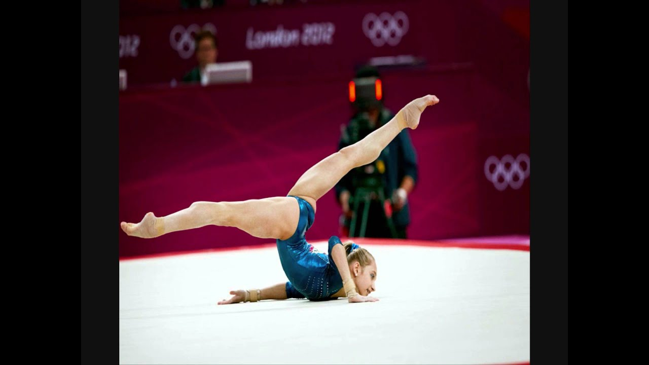 Gymnastics floor music elements youtube for Floor gymnastics