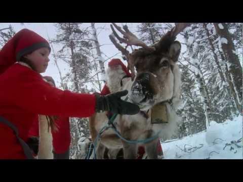 A MIKULÁS ÉS MŰHELYFALVÁNAK BEMUTATÁSA - Lappföld - Finnország - Rovaniemi