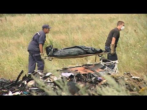 Malaysian Airlines Flight 17 Shot Down: Drama at Ukraine Plane Crash Site