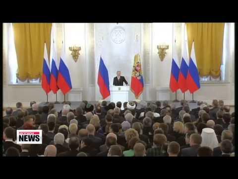 Kremlin says Crimea now part of Russia