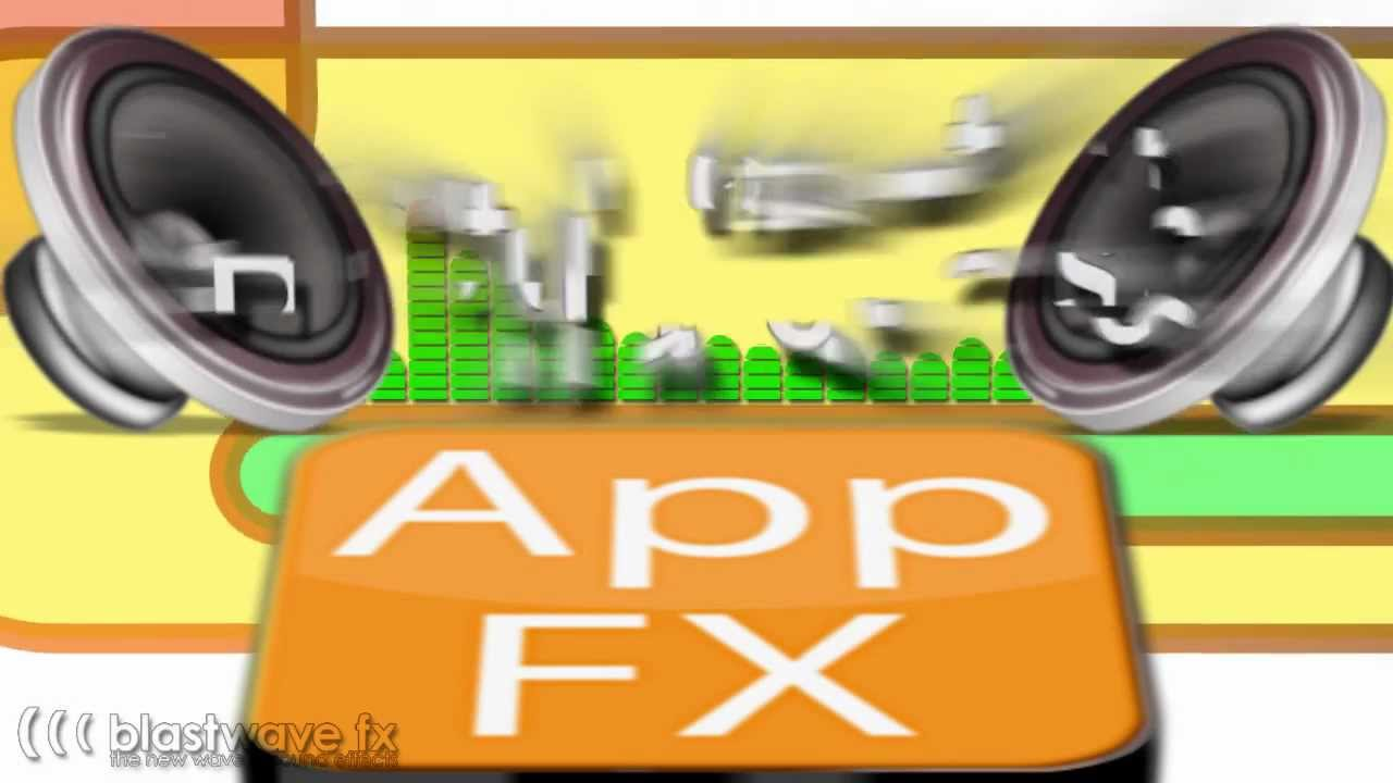 App fx sound effects library