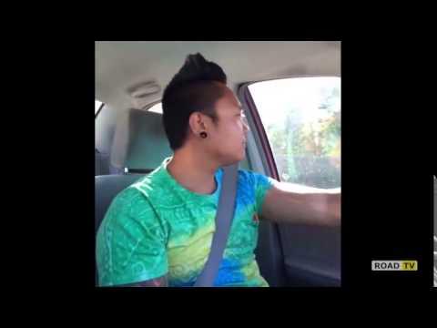 Когда один в машине