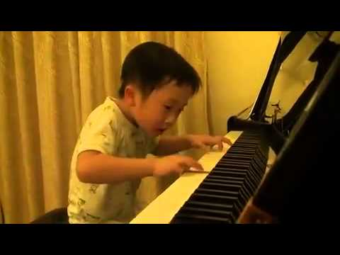 Amazing  4-Year-Old Boy Plays The Piano Better Than Most Professionals!   WatchPinoyTube
