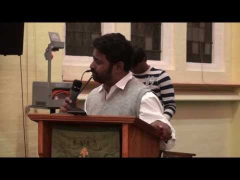 To be like Jesus - Bro. Praveen Kumar at BMTC