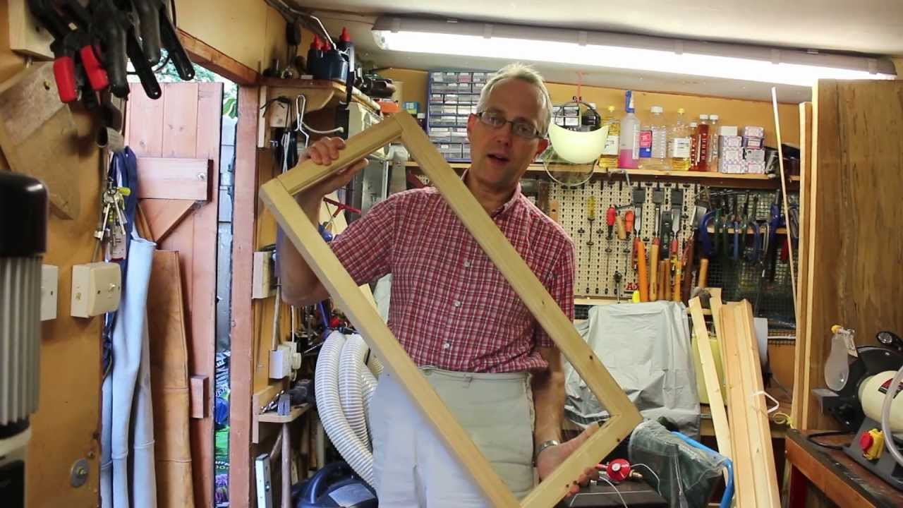 Making Traditional Wooden Window Frames Youtube
