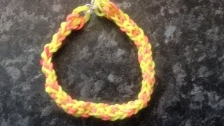 How To Make Inverted Fishtail Loom Band Friendship