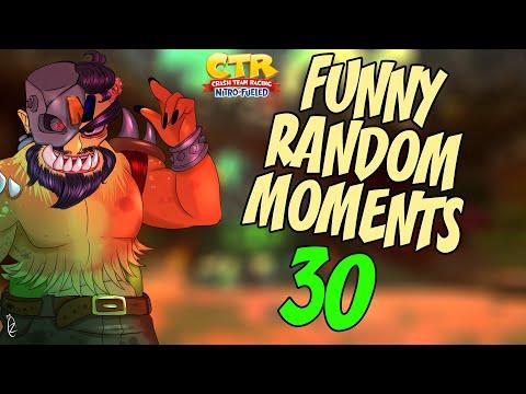 Crash Team Racing Nitro-Fueled ♥ funny moments montage 30