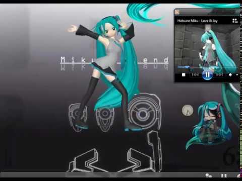 MikuMikuDance Mascota en tu Escritorio Ichi! + Download Modelos y Motion!