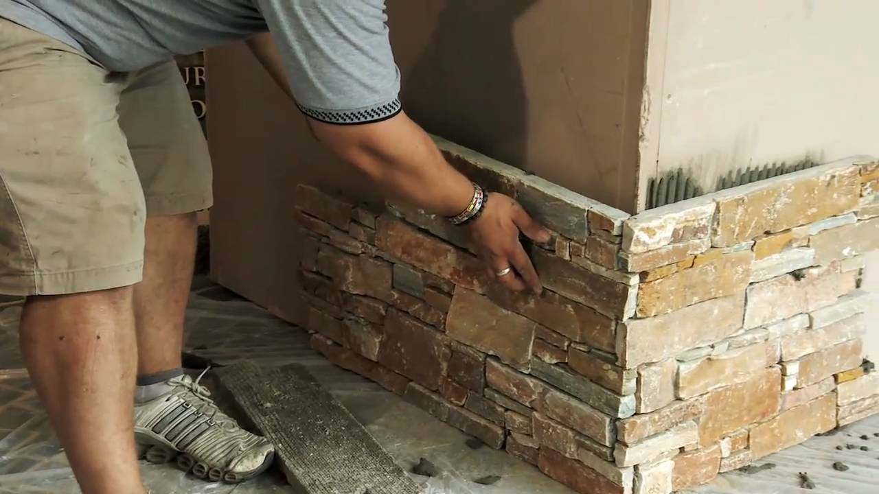 Quot How To Apply Ledge Stone Quot By Decor Stone Australia Youtube