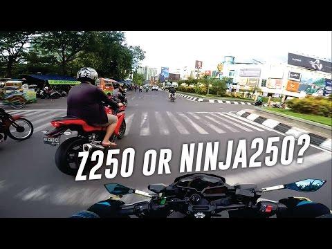 Kawasaki Z250 atau Ninja 250 FI?