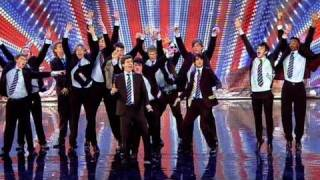 Out Of The Blue Britain's Got Talent 2011 Audition Itv