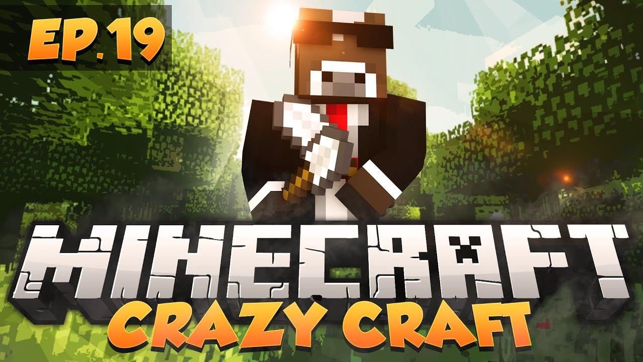 Crazy craft modded survival ep 19 minecraft crazy craft