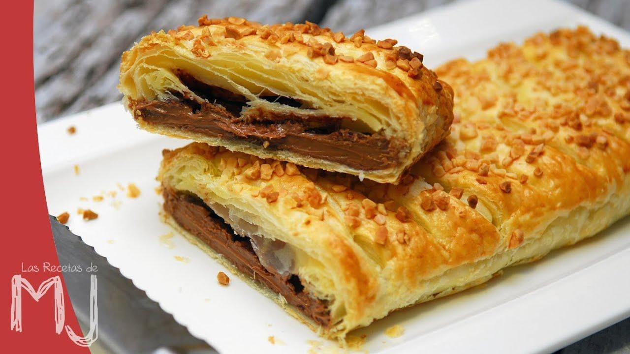 Пирог с шоколадной пастой рецепт