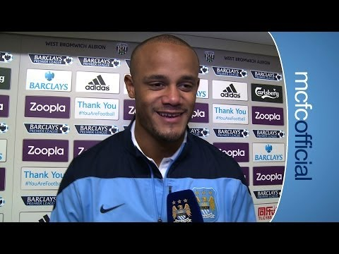KOMPANY PRAISES FANS: West Brom 2-3 City