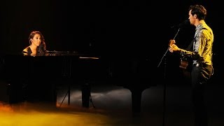 "Alex & Sierra ""Say Something"" Live Week 8: Finals The"