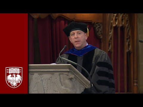 The University of Chicago Booth School of Business  Executive MBA Program Graduation Ceremony