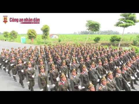 Hình ảnh Thao luyện diễu binh ngày cuối chuẩn bị Quốc Khánh 2/9