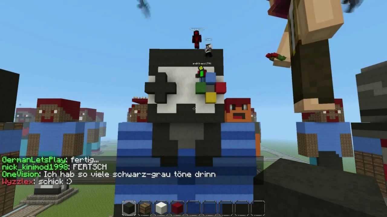 """You are Minecraft! + GLP Skin """"Speedart"""" von GermanLetsPlay [HD] by ...: www.youtube.com/watch?v=wrwHgqmQDxs"""