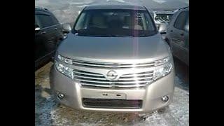 Nissan Elgrand 2011 год