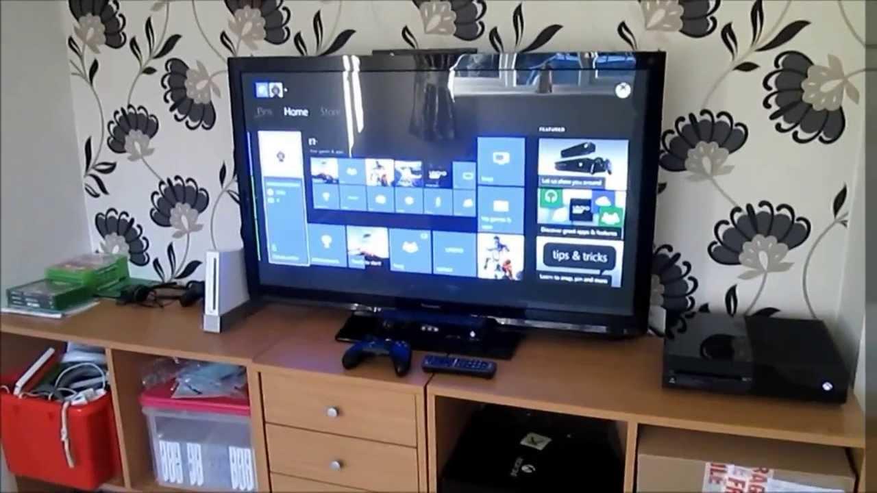 Console Gaming Setup Xbox One Youtube