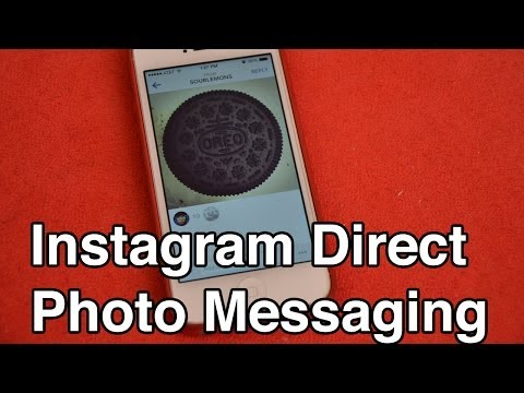 Instagram Direct (Instagram 5.0.0) Quick Demo