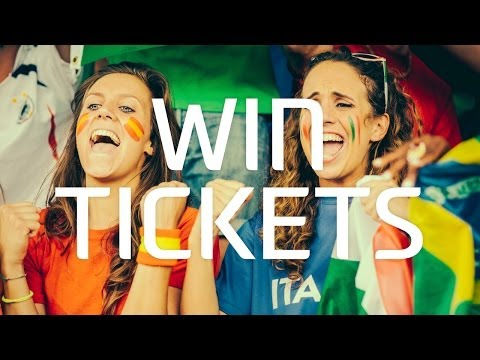 Win tickets to the FIFA World Cup 2014