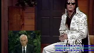 Johnny Carson Finds Elvis Presley on The Tonight Show, 1988