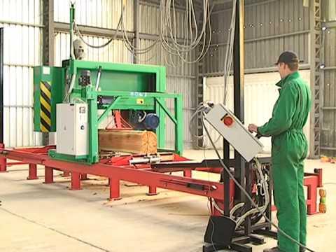 Wilber Rodriguez Nueva maquina industrial para aserradero