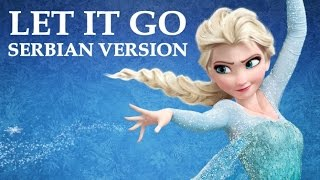 Frozen Let It Go (Serbian Version) Sad Je Kraj (Lyrics