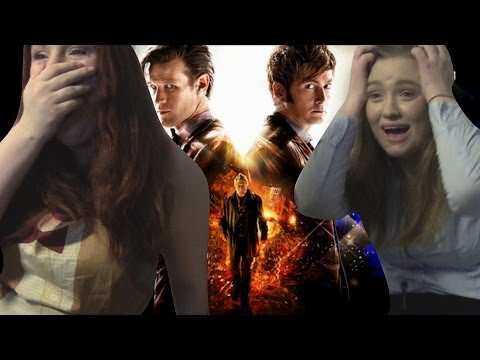 DOCTOR WHO - 50TH ANNIVERSARY - DRUNK REACTION VIDEO + SUPRISE REACTION