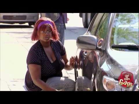 Crazy Car Wheels Prank