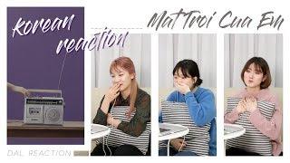 NGười Hàn Reaction #02 | Mặt Trời Của Em - Official MV | Phương Ly ft JustaTee | DAL korean