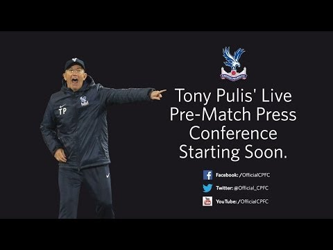 Tony Pulis' Pre-West Bromwich Albion Press Conference