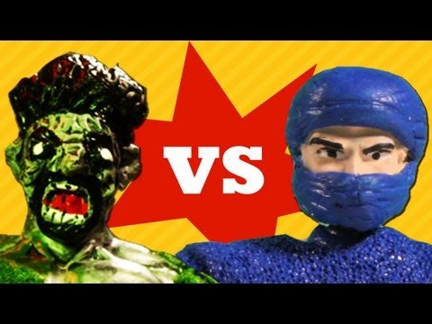 NINJAPPRECIATION DAY (Zombies vs. Ninjas #1)