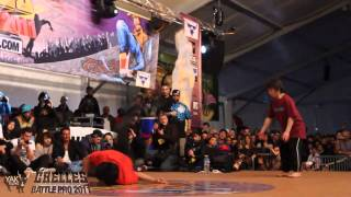KAKU & YOSHI Vs KILL & POCKET Chelles Battle Pro 2011 Bboy