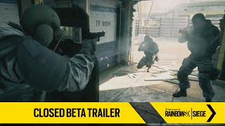 Tom Clancy's Rainbow Six Siege - Zárt Béta Trailer