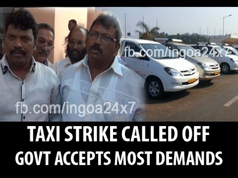 TAXI OPERATORS STRIKE TO BE CALLED OFF